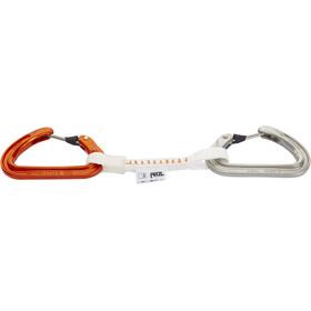 Petzl Ange Finesse Zestaw ekspresów wspinaczkowych  10cm pomarańczowy/biały
